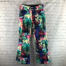 OBERMEYER Teen Girls Abstract Print JESSI Ski Snowboard Pants- Size L 14-16