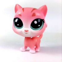 Littlest Pet Shop animal Cat Poppy Tabling #1-102 Hasbro LPS Figure kid Toy Doll