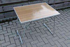 DDR Campingtisch Klapptisch Gartentisch Tisch Wohnwagen Zelt 80x60x64cm N2