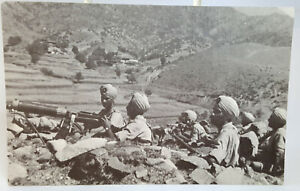 Vickers Gun Section, 2nd Royal Bn Sikh Regiment 1936, vintage reproduction