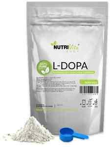 500g (1.1lb) L-DOPA 100% PURE Levodopa Mucuna Pruriens Powder USP NonGMO USA