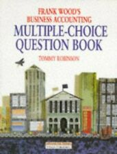 Frank Wood's Business Accounting MCQ Book: Multi... by Robinson, Tommy Paperback