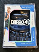 2018-19 Immaculate Sneakers Tongue Logo Dirk Nowitzki 1/1 one of one