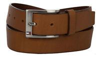 Cintura uomo pelle belt TOMMY HILFIGER art. AM0AM01002 taglia 105 col. 910 TAN