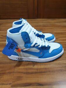 Jordan 1 Retro High Off-White University Blue US 9.5 used