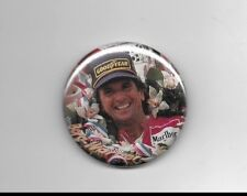 "Emerson Fittipaldi Indianapolis 500 2-Time Winner 2 1/4"" Button #2"