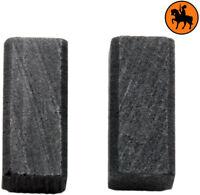 Balais de Charbon pour Black /& Decker CD500B 6,3x8x13,5mm