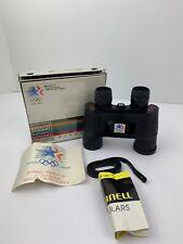 Bushnell Medalist 84 Binoculars 1984 LA Olympic Games Bausch & Lomb Original Box