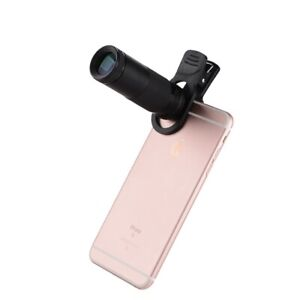 Light Weight Compact HD 8X21mm Monocular with Adapter for Phone Full Screen
