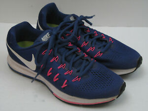 Nike Air Zoom Pegasus 33 831356-501 Women's Size 9.5 Blue Running Shoes 7828