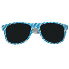 Brille mit bunten Federn und Schmucksteinen Party Brille Karneval Fasching