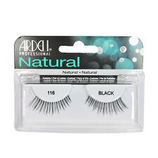 2 Pairs x Ardell Natural Lashes #116 False Eyelashes Fake Lash Eyelash Black