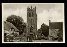 Somerset Isle Abbot Village Church early PPC ref2 c1920?