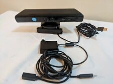 Genuine Microsoft XBOX 360 Kinect Sensor Bar Model 1414 Black with AC Adapter