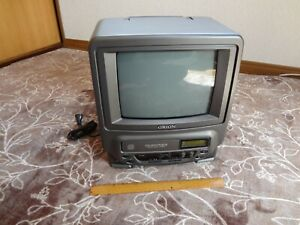 ORION Vintage 10-inch CRT TV and CD 2way power Junk Not Working For parts