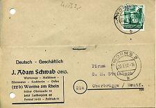 Rheinland-Pfalz 4 - Bedarfs - Postkarte