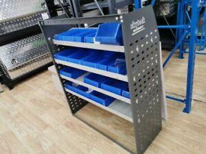 Van shelving Guard 4 Shelf Trays Steel Racking Storage 126cm*43cm*117cm VS007
