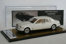 Kit Monté TRL 1/43 - Rolls Royce Phantom 2003 Blanche