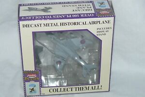 Model Power Postage Stamp Planes Die Cast Airplane Hawker Hunter 1/100 Scale NIB