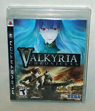 Valkyria Chronicles PS3 Brand New & Factory Sealed