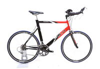 Fuji Aloha TT / Triathlon Bike 2 x 9 Speed Shimano 105 650C Large / 58 cm