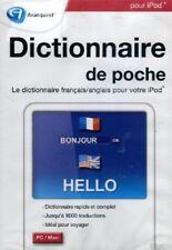 DICTIONNAIRE DE POCHE POUR IPOD - FRANCAIS/ANGLAIS- win98-2000 - XP - VISTA