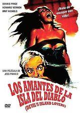 Los Amantes de las Isla del Diablo, New DVD, Jean Guedes, Howard Vernon, Jean-Lo