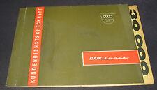 Kundendienstscheckheft Auto Union DKW Junior De Luxe Scheckheft Stand Mai 1962