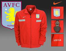 Vintage Nike Aston Villa Club De Fútbol Chaqueta De Chándal Rojo M