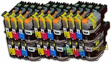 24 LC123 Ink Cartridges For Brother MFC-J4510DW MFC-J4610DW MFC-J470DW non-OEM
