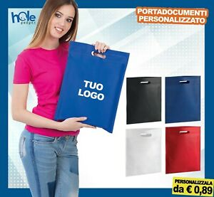 Shopper Personalizzate Gadget Personalizzati Porta Documenti Promozionali Stock