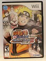 Naruto Shippuden: Clash of Ninja Revolution III (Nintendo Wii, 2009)
