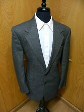 Mens Blazer Sport coat Jacket Daniel Hechter 40r Golden Weave  100% Wool  S#145