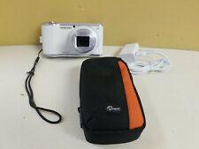 Samsung Galaxy Digital Camera 2 EK-GC200 21X Zoom 16.3MP  With Case