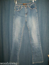 Route 66 Size 8 Jeans jean 5 Pocket Straight Leg 98% Cotton Stretch fit