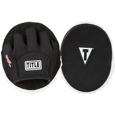 TITLE Boxing Gel Tech Punch Mitts