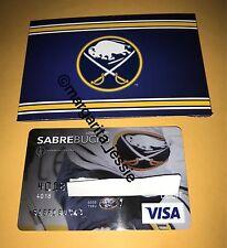 LIMITED EDITION BUFFALO SABRES GIFT CARD SABREBUCKS NO VALUE COLLECTIBLE