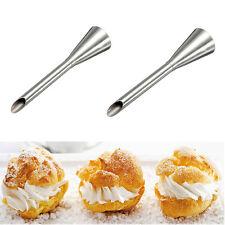 New Icing Piping Nozzles Tips Dessert Cream Butter Cupcake Doughnut Filler Tool