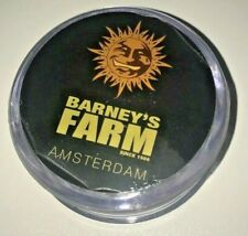 CLEAR ( With main compartment & Magnetic ) BARNEY'S FARM - Herb Grinder