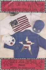Stars and Stripes No Sew Applique Patterns by Out on a Whim 1994