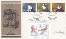 1971 Literary Anniversaries Signed by T Gledhill GC Holder, J Leggett B of B pil