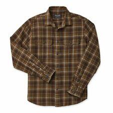 Filson Scout Shirt Brown / Tan / Otter Green Plaid - SALE