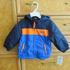 Infant OshKosh b'gosh winter coat with hood 12M brand new NWT $50