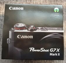 Canon PowerShot G7X Mark ii 20.2MP Digital Camera - BRAND NEW IN BOX - Mark 2
