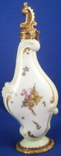 Antique 18thC Meissen Porcelain Perfume Bottle Flask Porzellan Perfuem Flacon