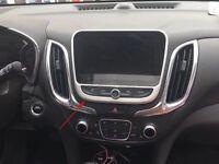 Center Dashboard Navigation Frame Panel Cover For Chevrolet Equinox 2018-2020