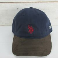 US Polo Assn Embroidered Logo Navy Blue Baseball Cap Hat Adj strapback