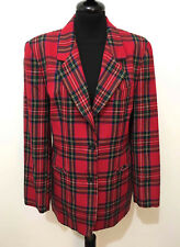 CULT VINTAGE '80 Giacca Donna Lana Scotland Mods Wool Woman Jacket Sz.M - 44