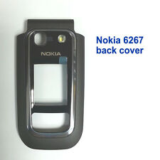 100% Genuine New Nokia 6267 Front with Screen Lens Panel Fascia Housing - Black