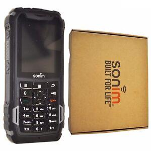 BNIB Sonim XP5 XP5700 4GB Gray Rugged IP68 Factory Unlocked Tough 4G/LTE GSM
